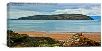Looking Across To Little Cumbrae, Canvas Print