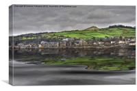 Largs Seafront, Canvas Print