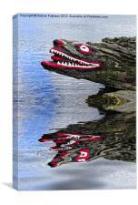 Crocodile Rock, Canvas Print
