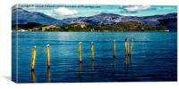 Across Loch Lomond, Canvas Print