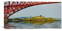 Inchgarvie Island, Canvas Print