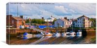 Ayr Slip And Harbour, Canvas Print