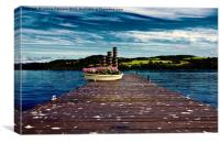Duck Bay Pier, Canvas Print
