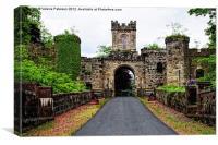 Loudoun Castle Ruins, Canvas Print