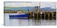 Millport Pier, Canvas Print