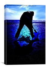 Seaside Reflection, Canvas Print