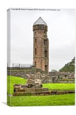 Eglinton Tower & Ruins, Canvas Print