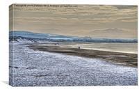 Irvine Beach, Canvas Print