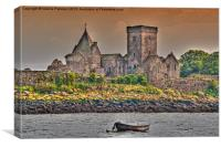 Medieval Inchcolm Abbey, Canvas Print