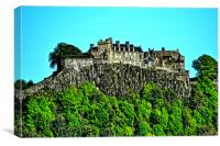 Stirling Castle, Canvas Print