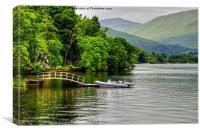 Loch Lomond View, Canvas Print