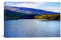 Loch Lomond Shores, Canvas Print