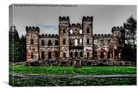 Loudoun Castle, Canvas Print