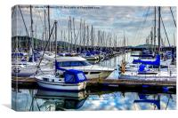 Largs Haven, Canvas Print