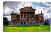 Paisley Town Hall, Canvas Print