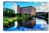 The Mill Paisley, Canvas Print