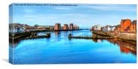 The Mouth Of River Ayr, Canvas Print