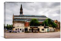 The Clutha Glasgow, Canvas Print