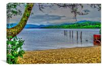 Loch Lomond View, Canvas Print
