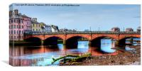 Ayr New Bridge, Canvas Print