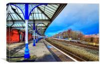 Kilmarnock Train Station, Canvas Print