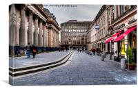 Merchant City Glasgow, Canvas Print