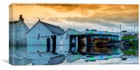 Harbour Arts Centre, Canvas Print