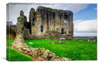 Dundonald Castle, Canvas Print