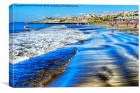 Tenerife Beach, Canvas Print