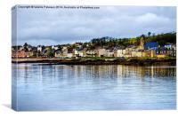 Millport Sea View, Canvas Print