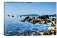Millport Bay, Canvas Print