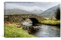 Bridge near Kinglass, Canvas Print