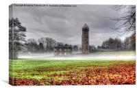 Fog on Eglinton Park, Canvas Print