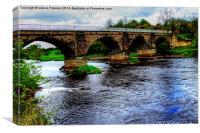 Laigh Milton Viaduct, Canvas Print
