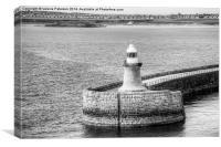 South Shields Lighthouse, Canvas Print
