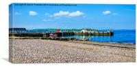 Largs Harbour, Canvas Print