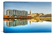 Dundee City Quay, Canvas Print