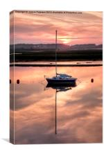 Harbour Sunset, Canvas Print