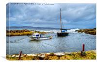Portencross Bay, Canvas Print