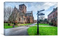 Carlisle Cathedral & Fratry, Canvas Print