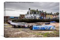 Harbour on Millport, Canvas Print