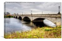 Victoria Bridge, Canvas Print