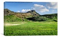 Arthurs Seat Edinburgh, Canvas Print