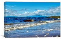 Incoming Tide , Canvas Print