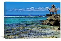 Caribbean Sea , Canvas Print