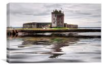 Broughty Castle , Canvas Print