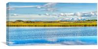 Irvine Estuary  , Canvas Print