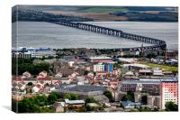 Dundee Rooftops , Canvas Print