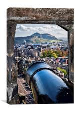 A View to Arthur's Seat , Canvas Print