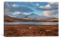 Scottish Mountains , Canvas Print